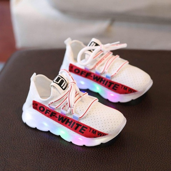 off white shoes kids
